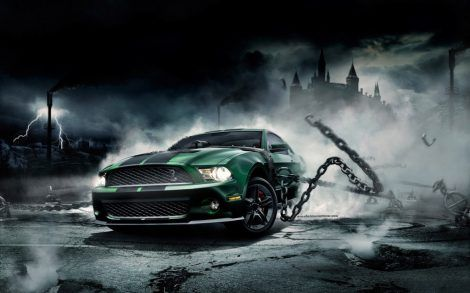 Top 3d Car Wallpaper Background Hd Wallpaper Pc Mustang Car