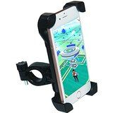 [Upgrade]Bike Phone Mount, Tryone Universal Bike Mount Bike Holder & Motorcycle Phone Mount Holder for iPhone or Android Smartphones - Max 0.5 Inch Thickness for a Phone with a Case