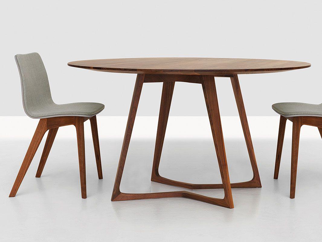 Holztisch Rund Runder Holztisch Holztisch Ovaler Tisch