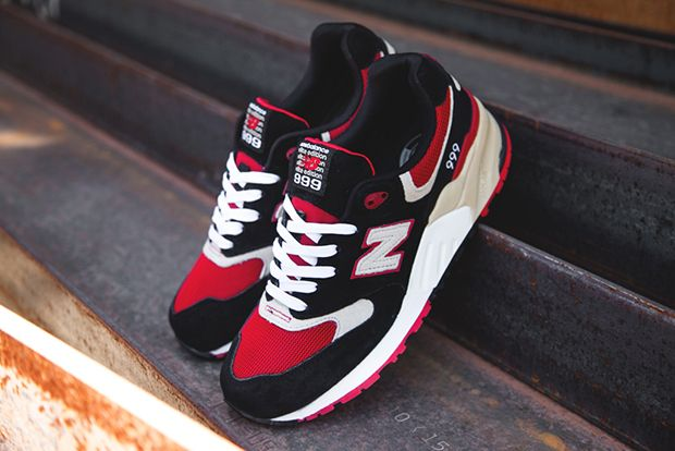 best service 1686a fbba8 New Balance 999 Elite Edition – Black – Red | shoes ...