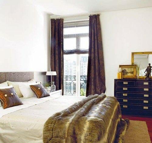 22 wundersch ne ideen f r dekorative vorh nge zu hause dunkle vorh nge schlafzimmer behaglich. Black Bedroom Furniture Sets. Home Design Ideas