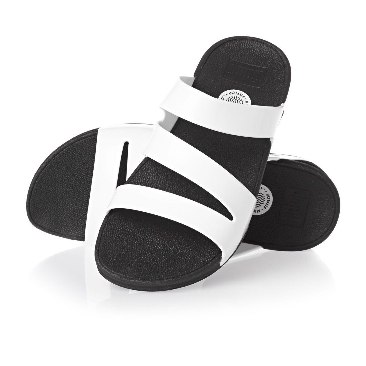 8560d75a3d0b Fitflop Superjelly Twist Flip Flops - Urban White
