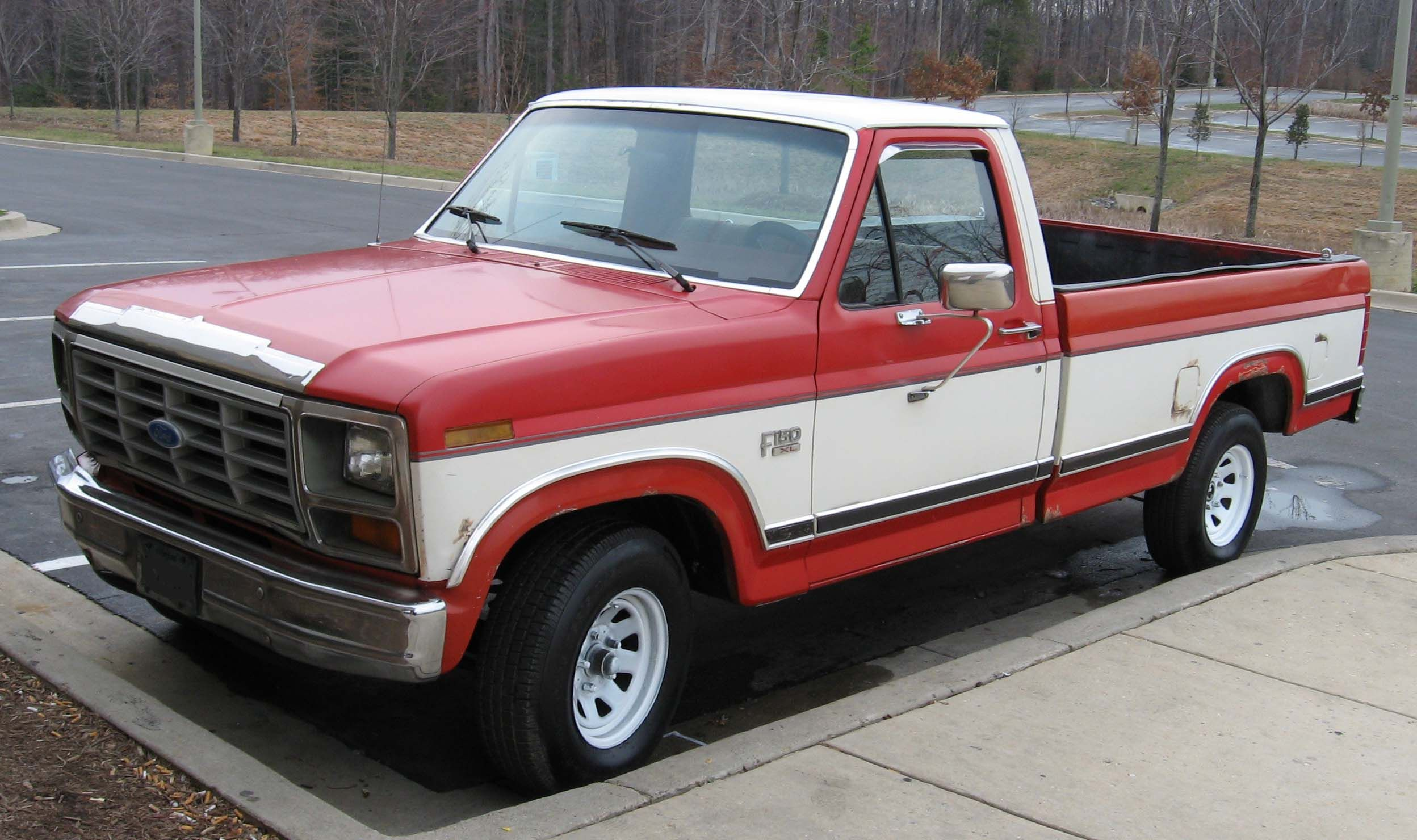 red ford f150 1980 ray pinterest ford ford trucks and cars rh pinterest com Ford F-150 Ford F 150 Lightning Specs