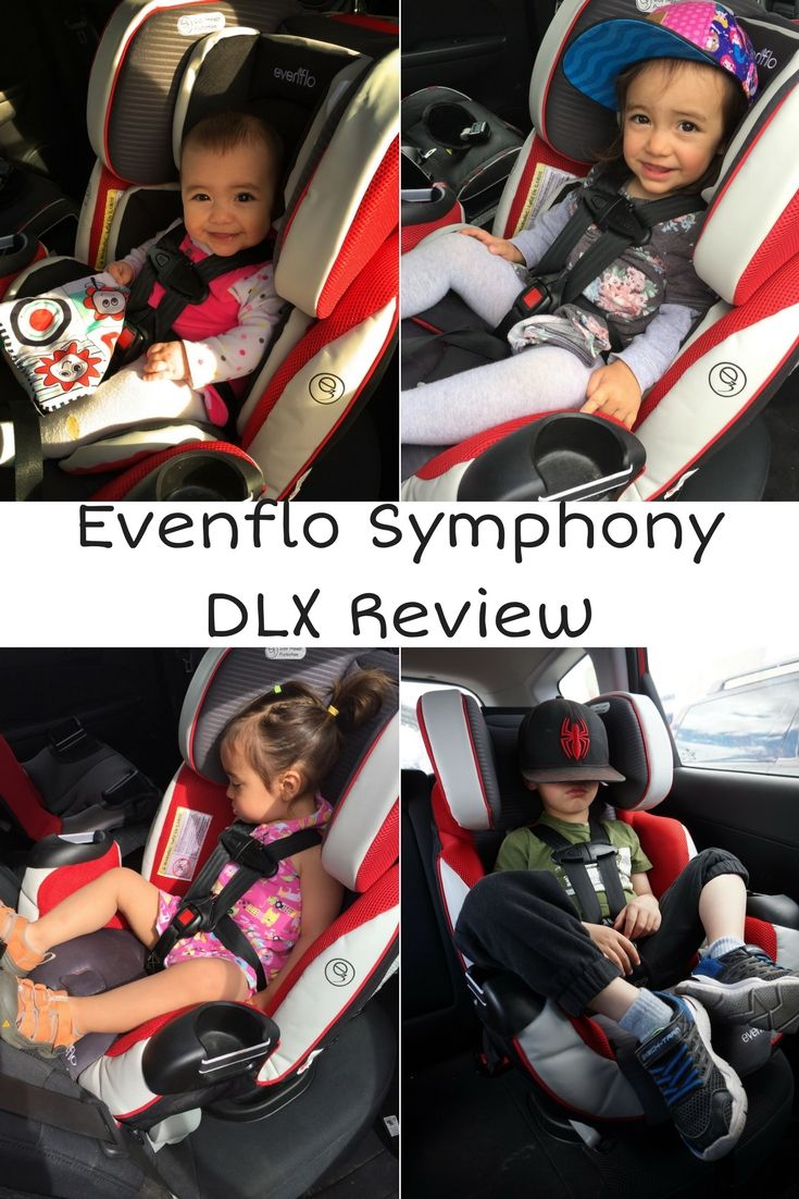 Evenflo Symphony DLX All-in-One Car Seat Review {updated} | Car seats