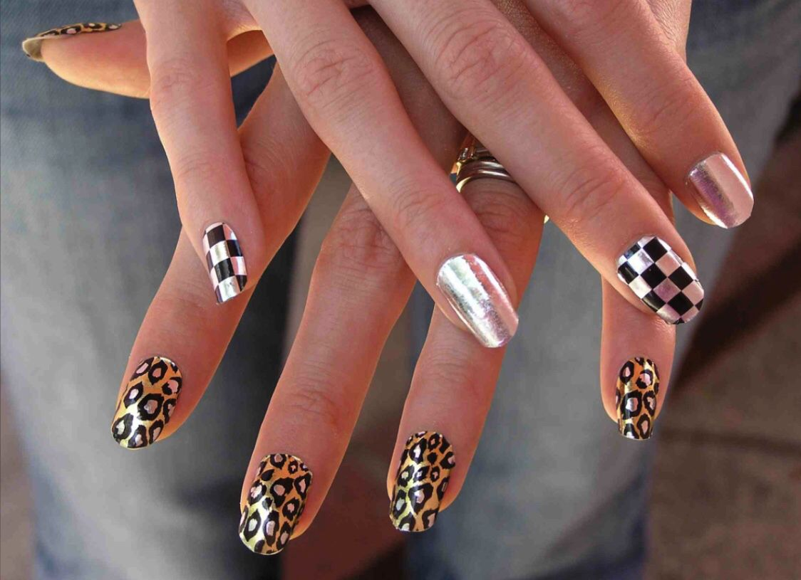 Pin by darknight on nailsuñas pinterest