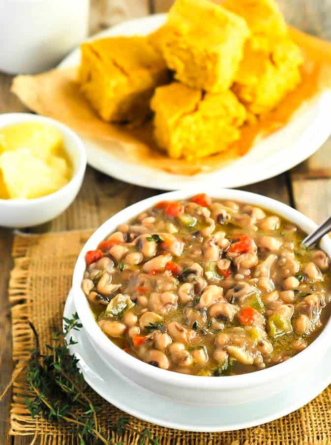 Southern Black Eyed Peas Vegan