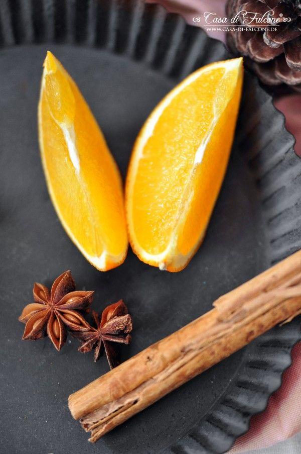 Glühweinsirup Rezept \ Verpackungsidee I Geschenke aus der Küche I - geschenke für die küche