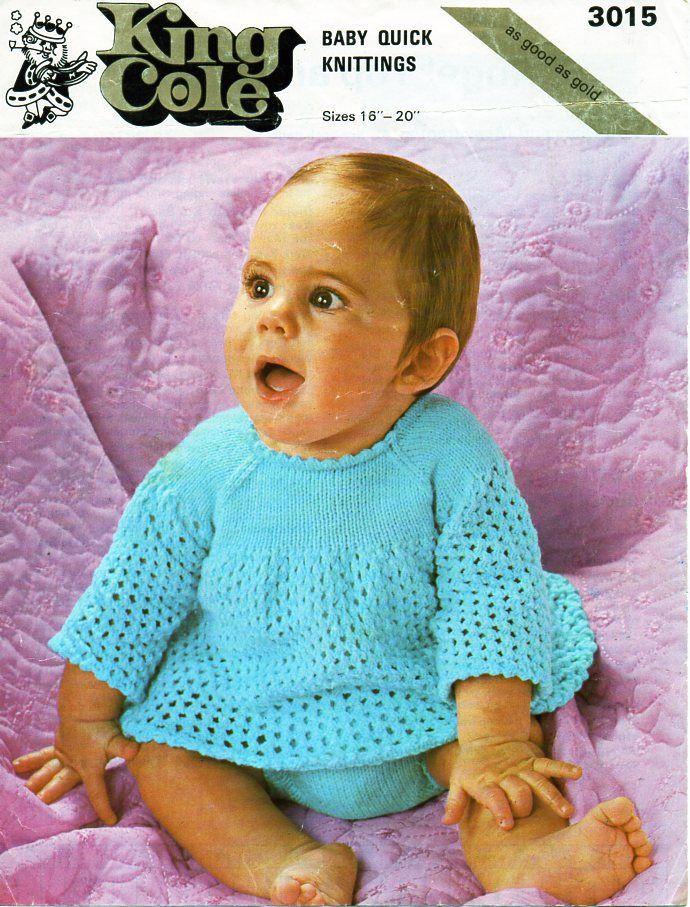 baby dress and pants knitting pattern pdf baby girls angel top ...
