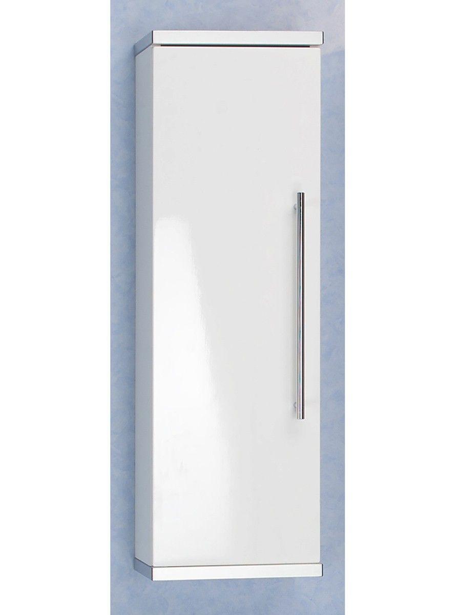Badezimmer Hangeschrank Weiss Schmal Tall Cabinet Storage