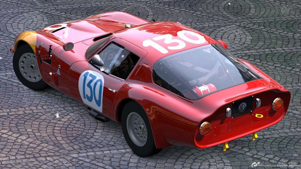 Alfa Romeo Tz2 Zagato  ALFA IN RACE  Pinterest  Car Alfa romeo