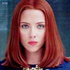 Captain America Icons Tumblr Scarlett Johansson Black