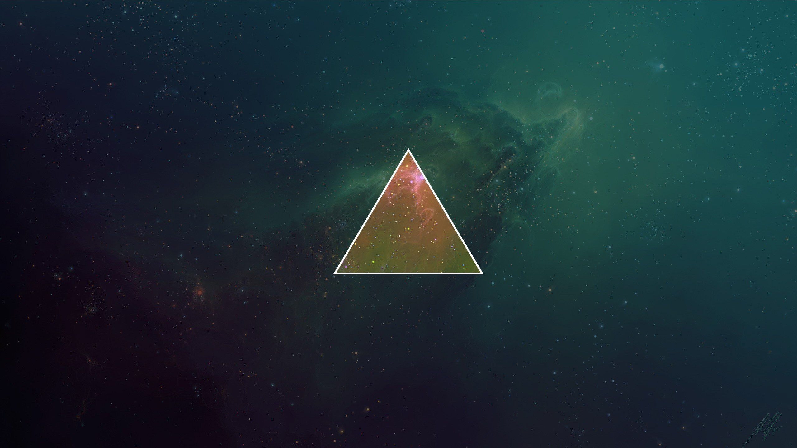 Galaxy Triangles Skies Hipster Photography Minimalism ...
