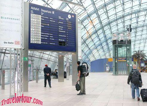 Airport Frankfurt Arrival