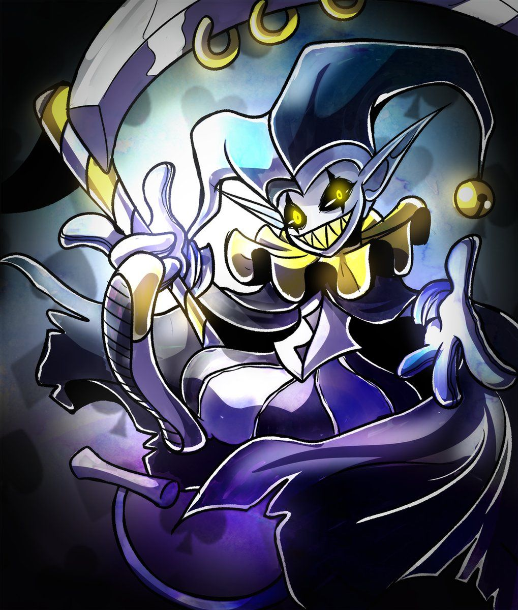 CHAOS CHAOS! CAN YOU SMELL THE FREEDOM?!'' Jevil - Secret ...
