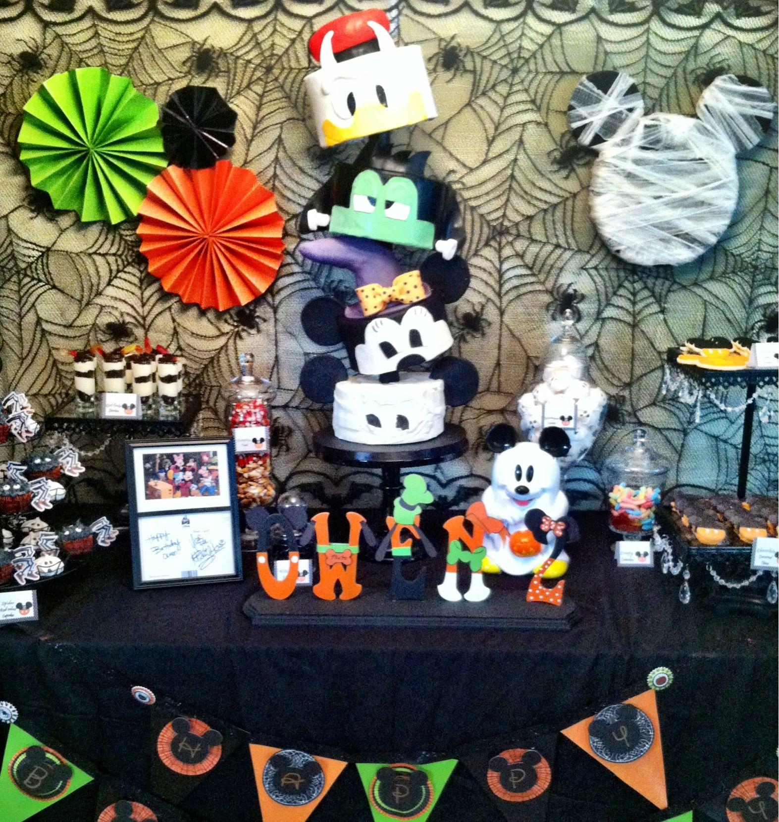 mickey mouse not so scary halloween birthday by sweet eats cakes wwwsweeteatscakescom