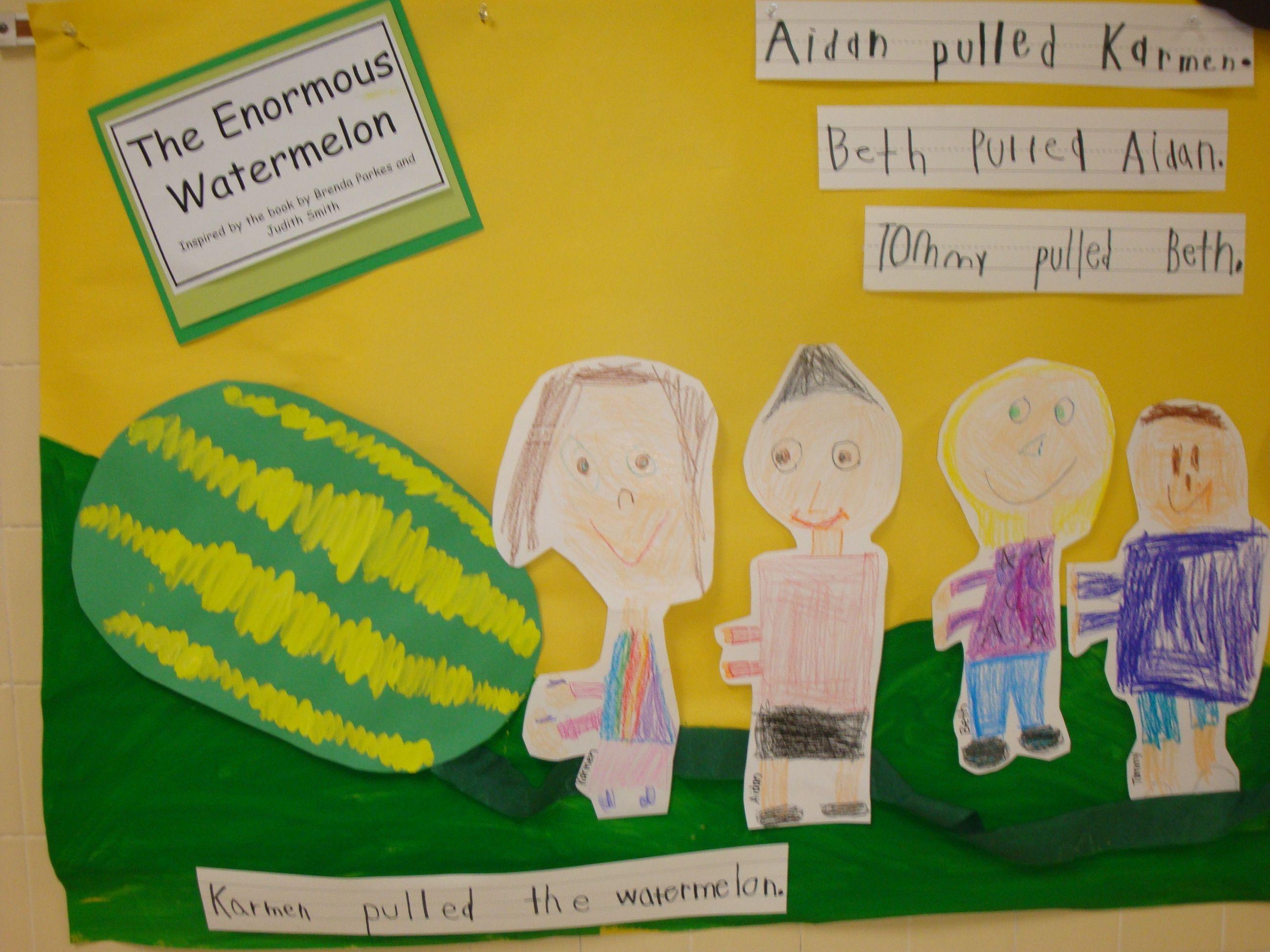 The Enormous Watermelon Watermelon Activities Shared Reading Kindergarten Literacy Activities [ 1944 x 2592 Pixel ]