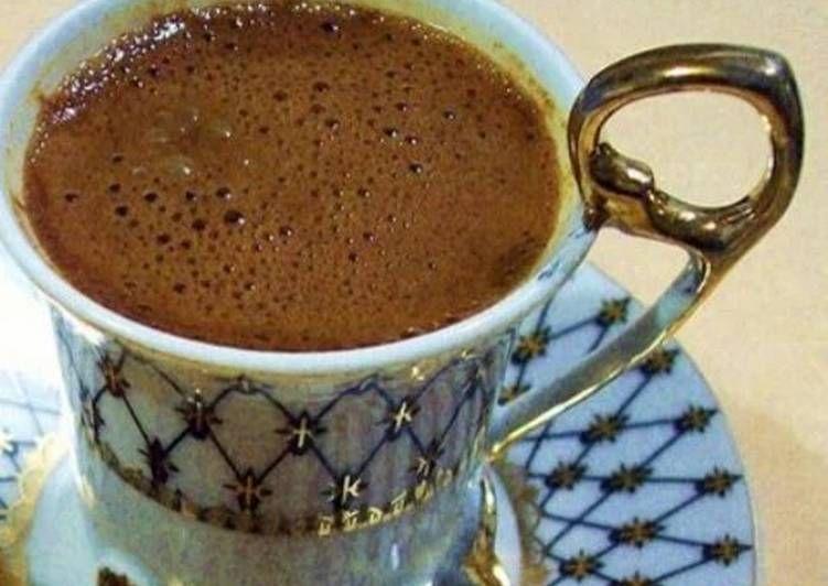 طريقة عمل فنجان القهوة بوش مثل الكافيهات والمحترفين Turkish Coffee Coffee Love Hot Drink