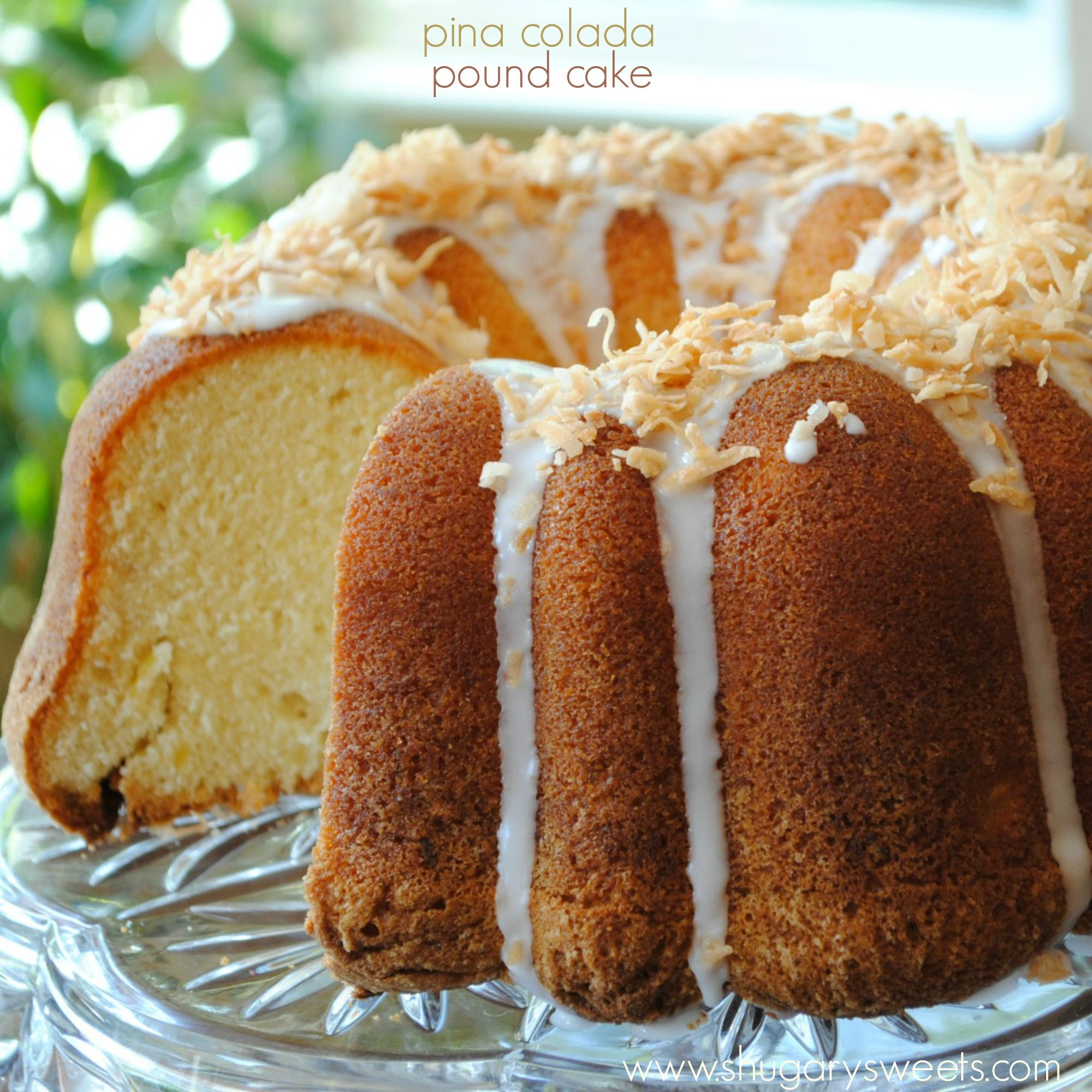 Pina Colada Pound Cake | Recipe | Summer, Bundt cakes and ...