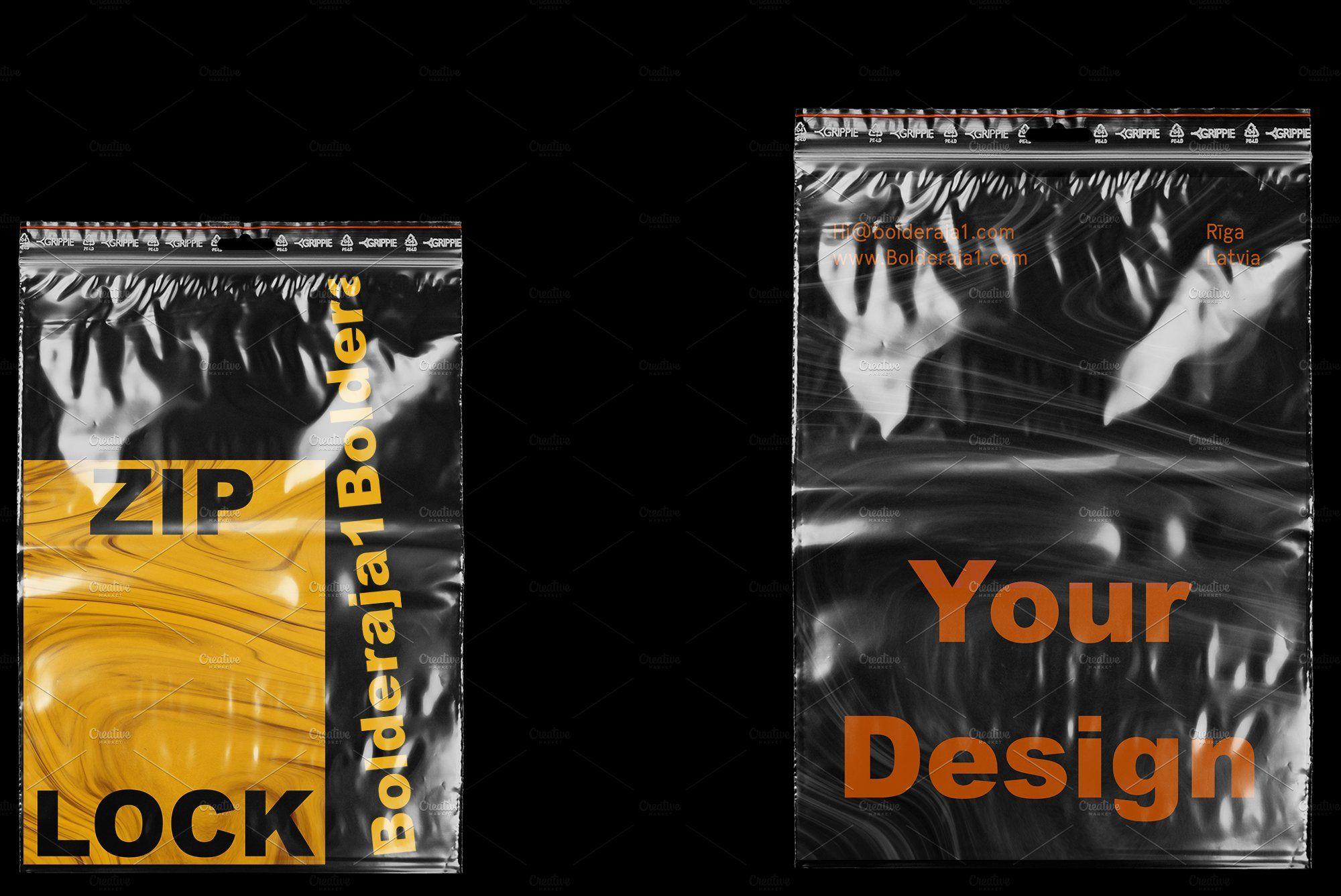 Download Ziplock Bag Mockup Bag Mockup Ziplock Bags Stationery Mockup