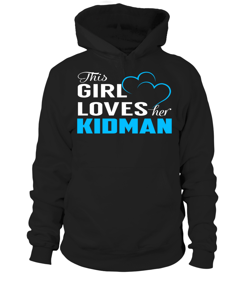 This Girl Love Her KIDMAN Last Name T-Shirt #Kidman