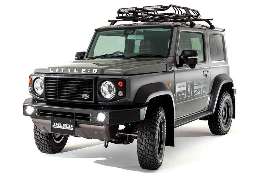 Turn Your Jimny Into A Defender With A Little D Body Kit Suzuki Jimny New Suzuki Jimny Suzuki