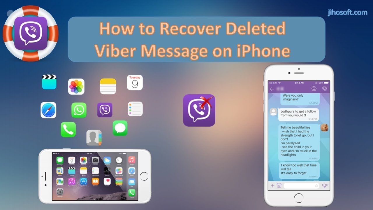 Itching to recover deleted Viber messages on your iPhone