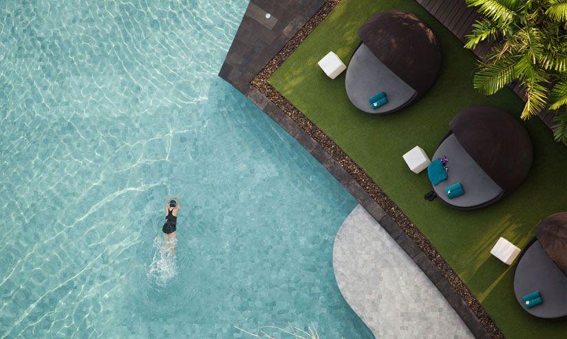 hôtel hilton pattaya by t.r.o.p - thailande | the garden,