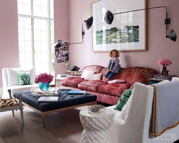 Home Decorating Ideas: Cosmetics Executive Christine Du0027Ornanou0027s London Home    ELLE DECOR