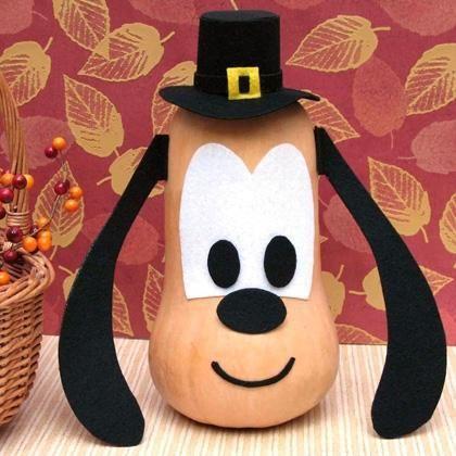 Butternut Squash Pluto Craft Idea Disney Thanksgiving Thanksgiving Kids Thanksgiving Crafts