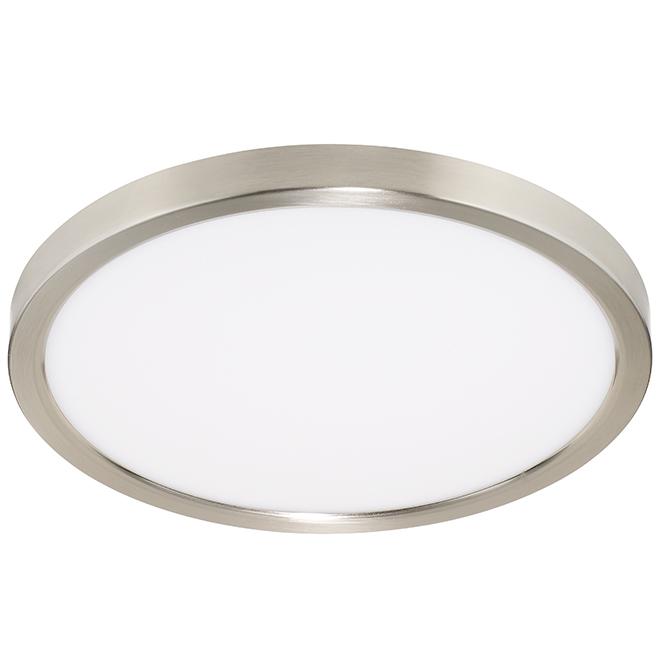 Bazz Flush Mount Led Ceiling Light Round 24 W Chrome