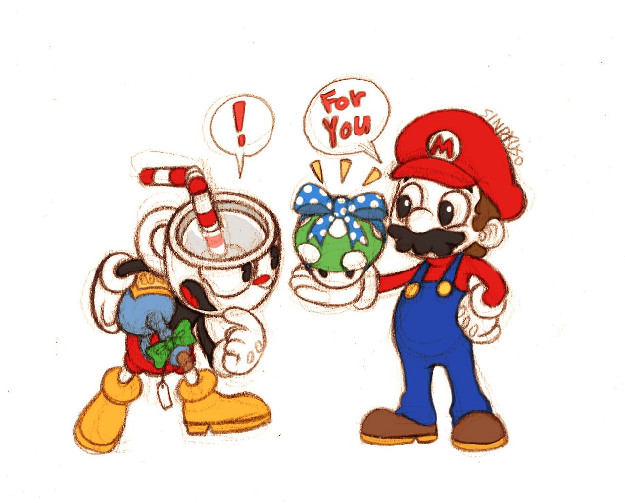 Because I Pinned The One Of Weegee And Mug Gaming Super Mario
