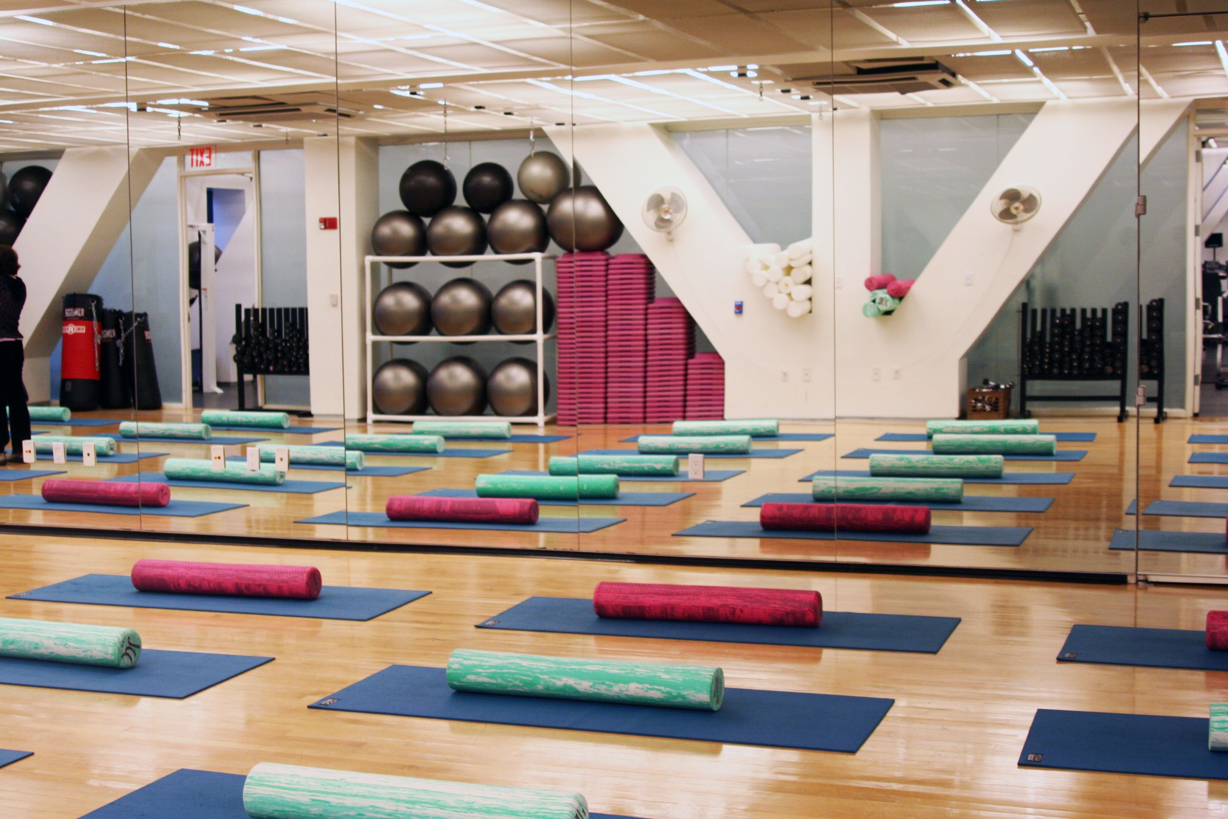 Th floor fitness studio spaces places pinterest