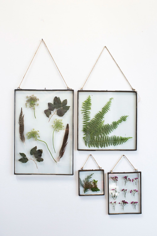 Mini Art Wedding Decor Vintage Picture Holder Plant specimen Photo Frame Wooden