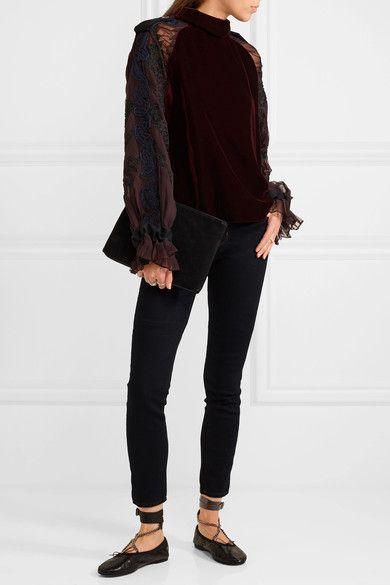 J Brand   Jean skinny taille mi-haute811   NET-A-PORTER.COM