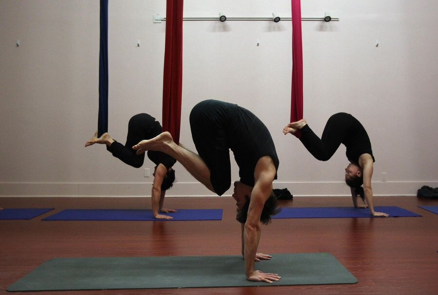 Pin By Kallie Marcus On Kinetix Aerial Yoga Aerial Yoga Poses Air Yoga