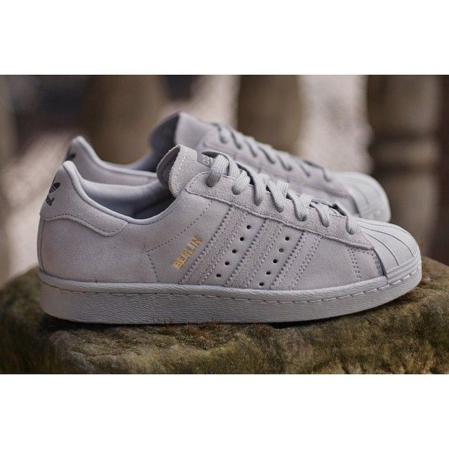 Adidas Superstar Grey Berlin