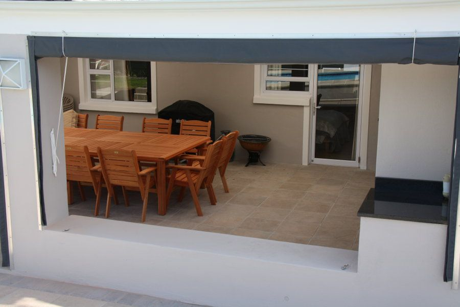 High Quality And Long Lasting Drop Side Patio Blinds Designed