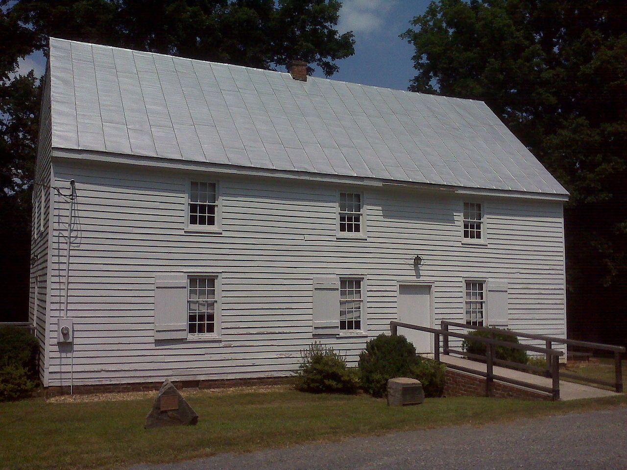 Providence Presbyterian Church In Louisa County Virginia