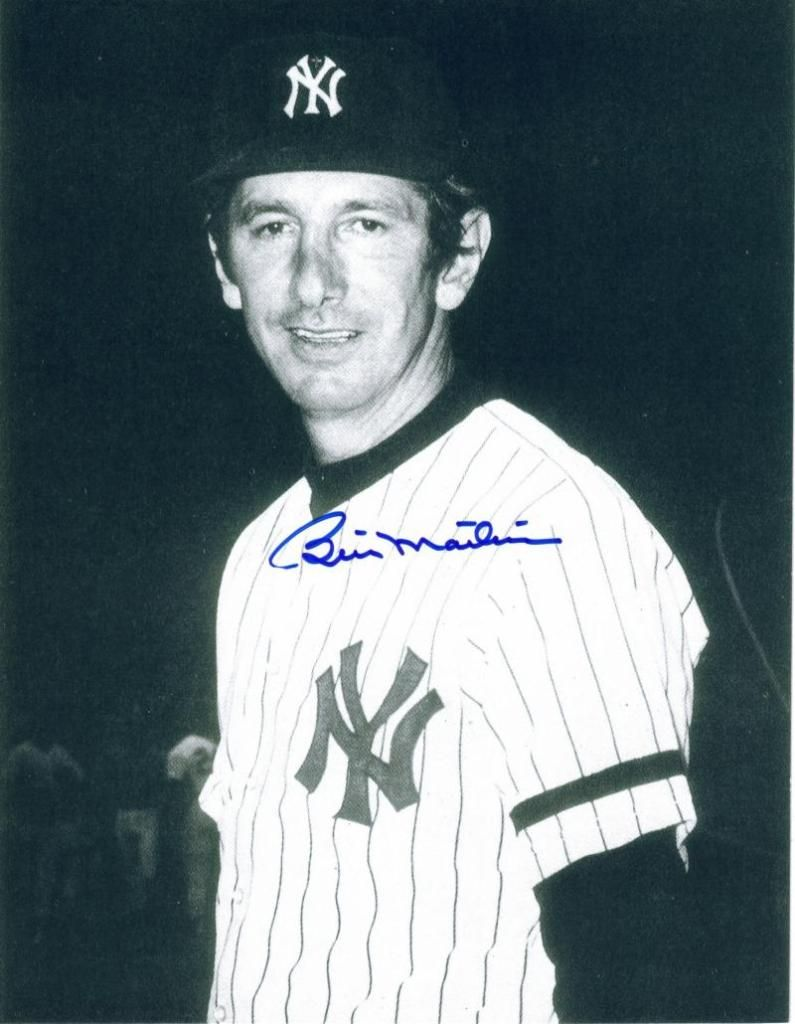 Billy Martin Manager With New York Yankees New York Yankees Yankees Baseball Yankees Pictures