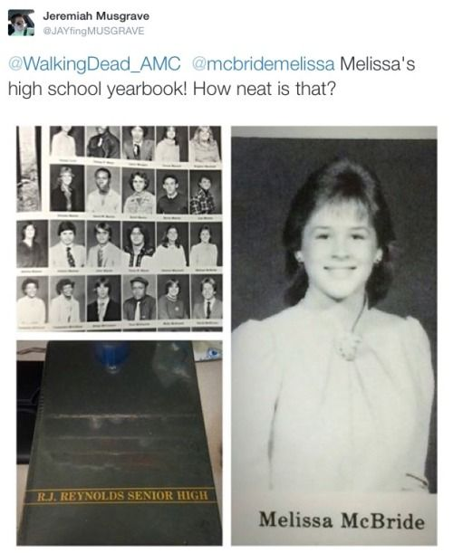 queen-carol: *Twitter Unveils a Very Young Melissa McBride