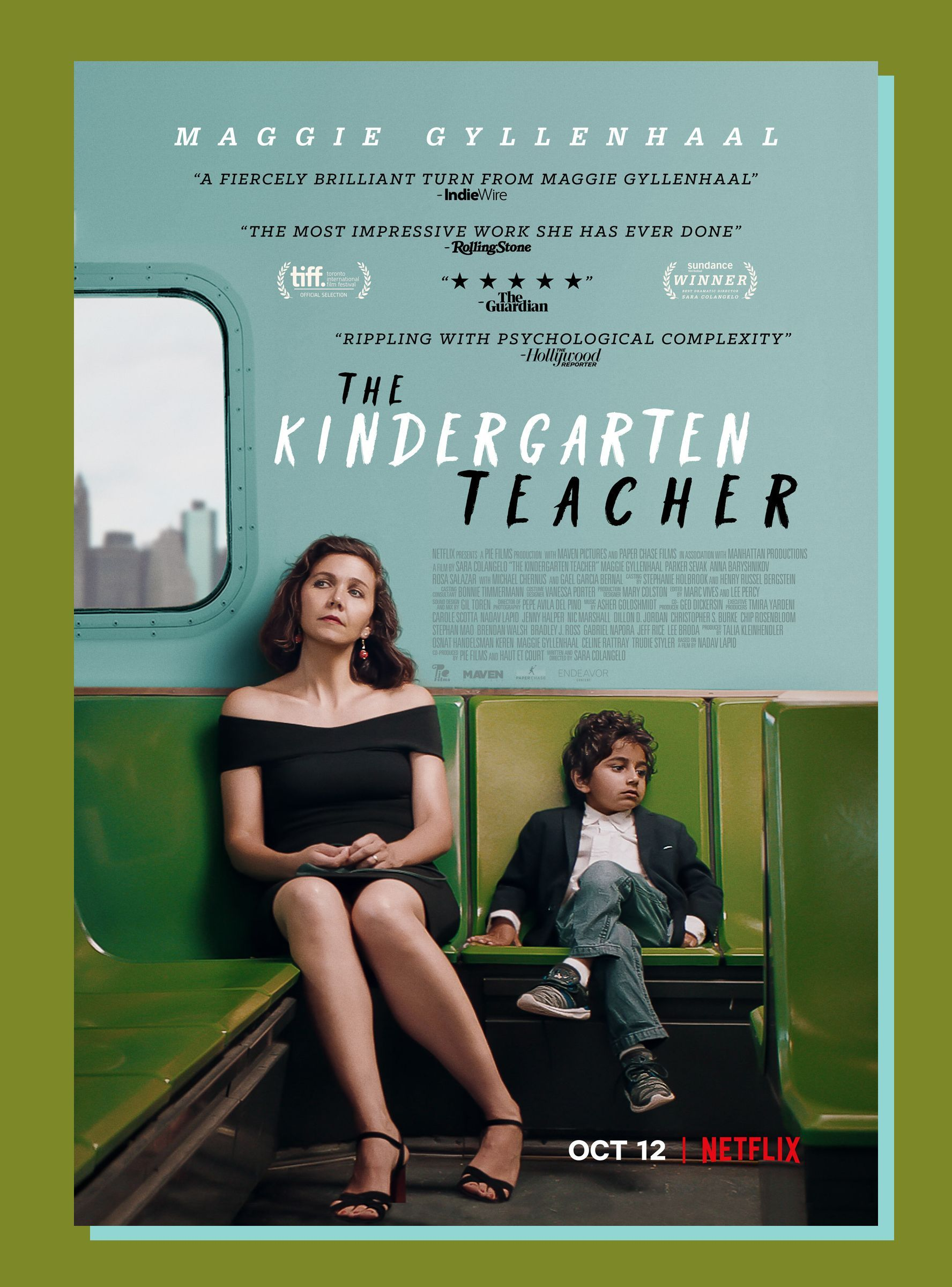 The Kindergarten Teacher 2018 1080p WEBRip DDP5 x264 Torrent İndir