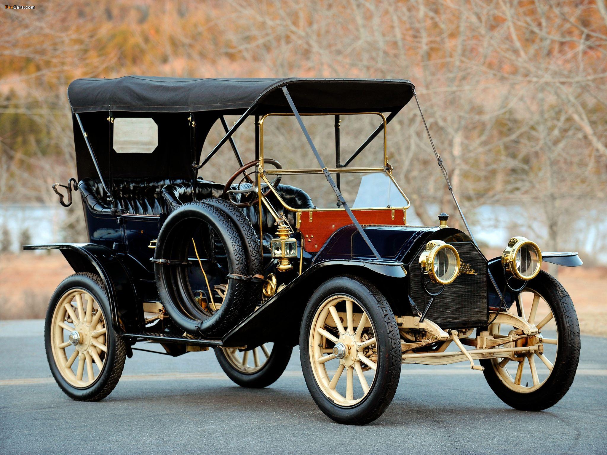 1910 Cadillac Model 30 Demi Tonneau Autres Vehicules