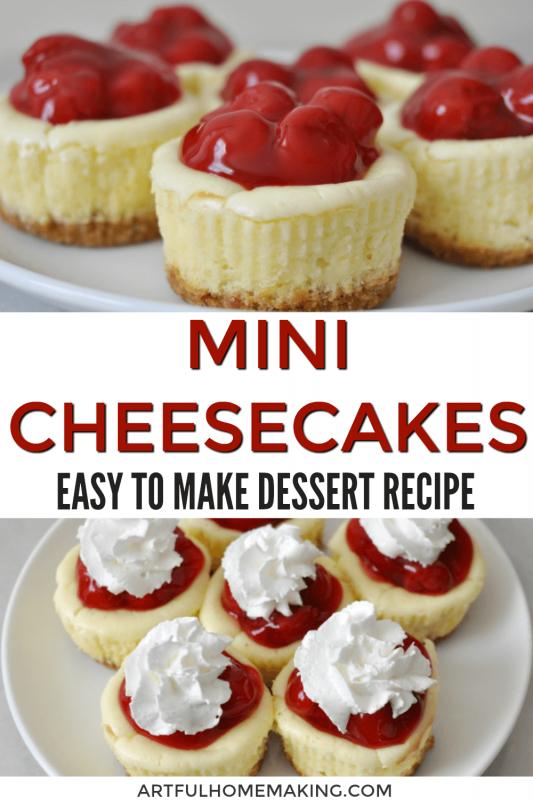 Mini Cheesecakes Recipe Recipe In 2020 Mini Cheesecake Recipes Mini Cheesecakes Cheesecake Recipes