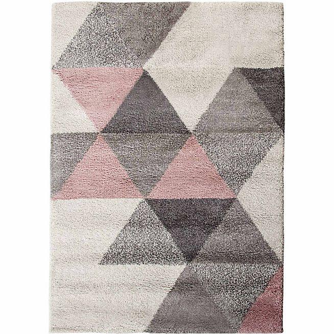 Oslo Tapis 160x230cm rose | tapis in 2019 | Rugs on carpet ...