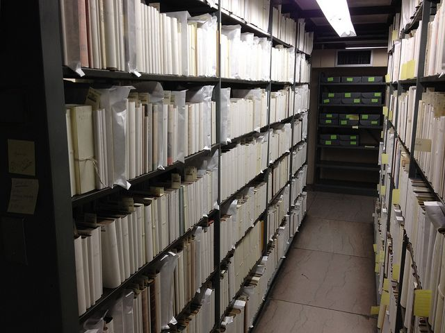 Rubenstein Rare Book Ranges, Pre-Move Prep by DukeUnivLibraries, via Flickr