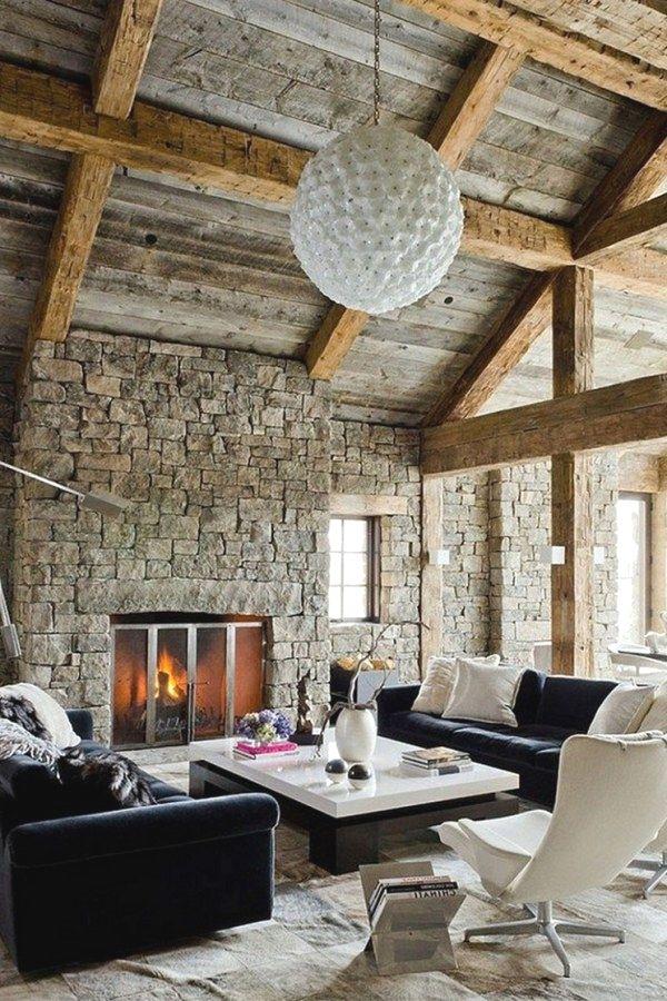 beautiful rustic style decor designs to accent  new loft home design no kitchen also rh pinterest