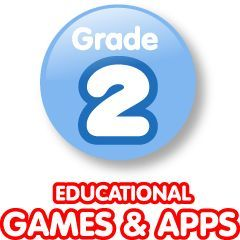 Second grade educational games for computer stations from ABCYa! I particularly like that some of the games are targeted at students developing technology proficiency, including typing.