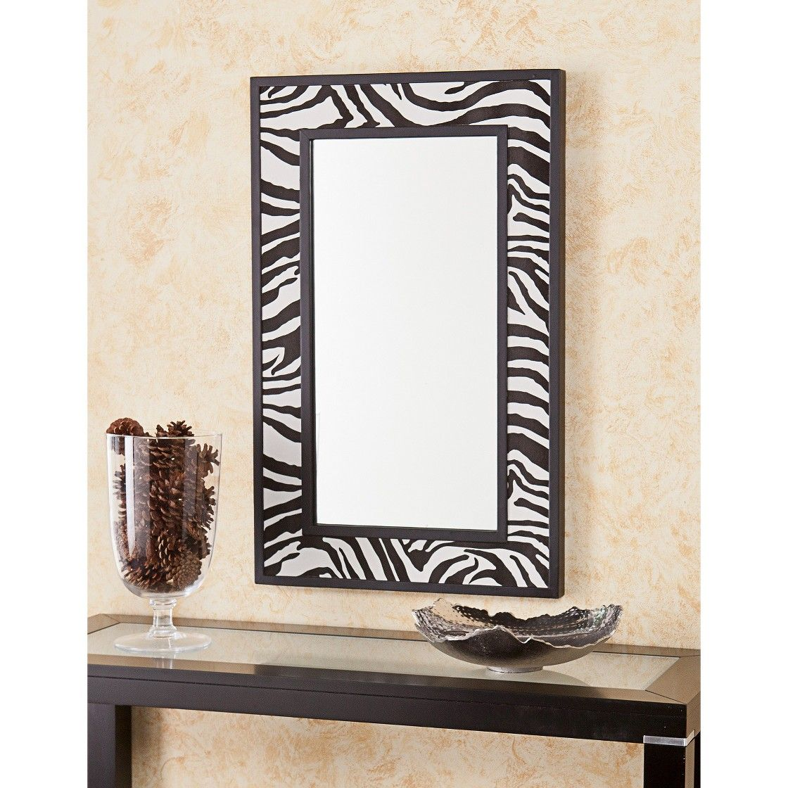 Southern Enterprises Decorative Wall Mirror - Black (32 Inches ...