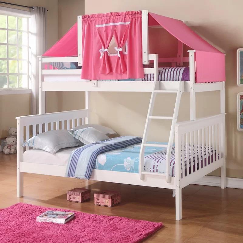 Auvergne Twin Over Full Bunk Bed in 2020 Kids bedroom