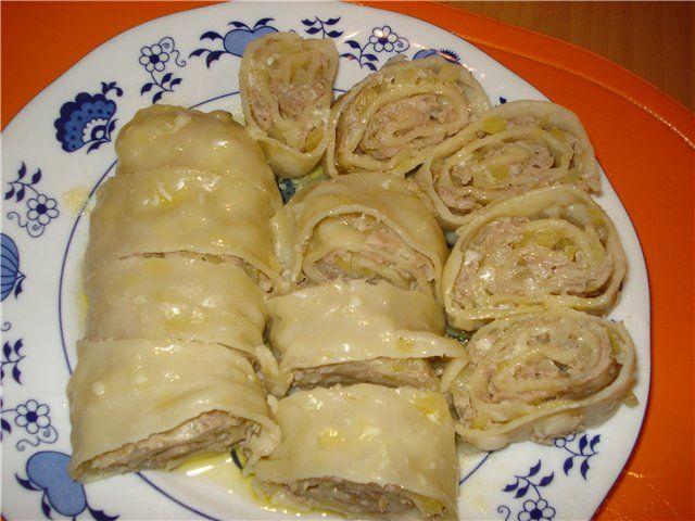 ханум с капустой рецепт с фото